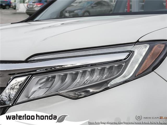2019 Honda Pilot Touring (Stk: H5511) in Waterloo - Image 10 of 23