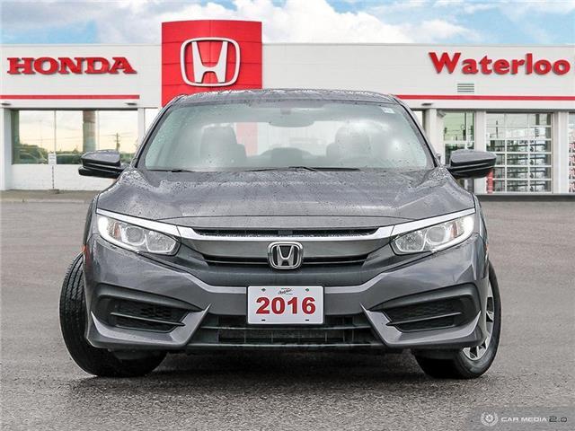 2016 Honda Civic EX (Stk: H5939A) in Waterloo - Image 2 of 27