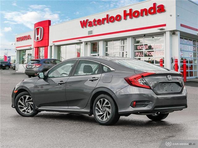 2016 Honda Civic EX (Stk: H5939A) in Waterloo - Image 4 of 27