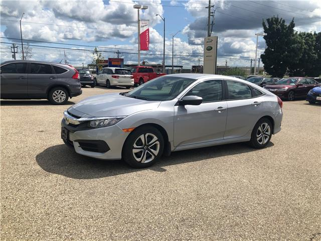 2017 Honda Civic LX (Stk: U6076) in Waterloo - Image 1 of 4