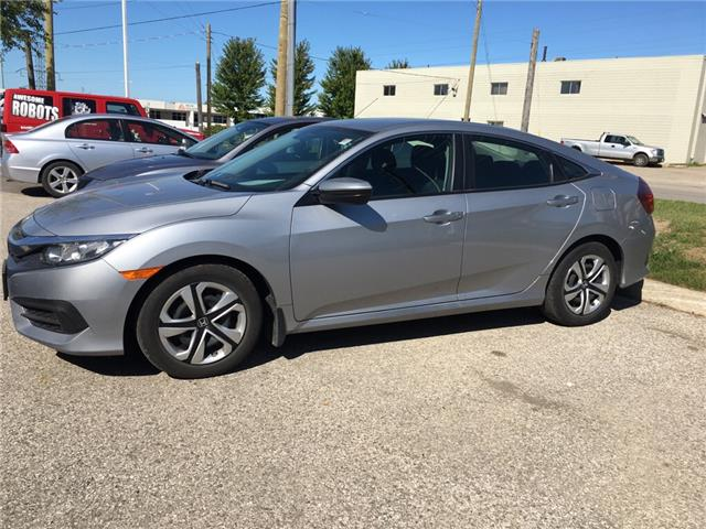2017 Honda Civic LX (Stk: U6076) in Waterloo - Image 2 of 4