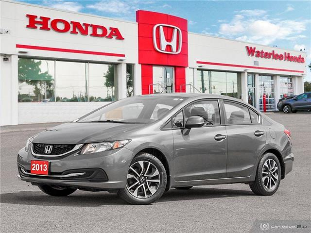 2013 Honda Civic EX (Stk: H5955A) in Waterloo - Image 1 of 27