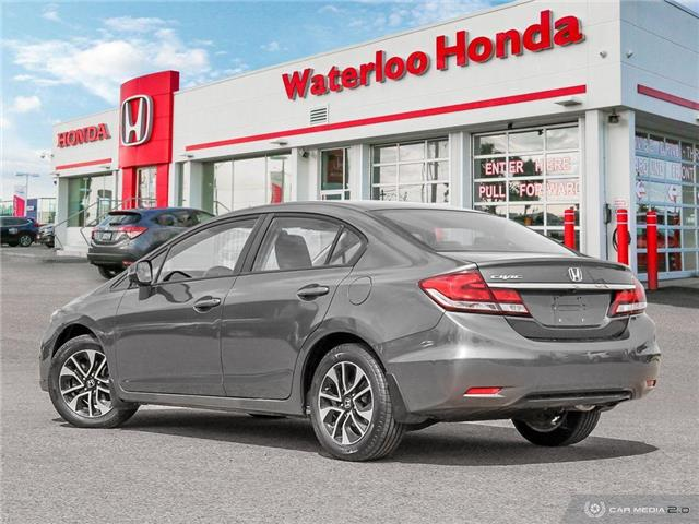 2013 Honda Civic EX (Stk: H5955A) in Waterloo - Image 4 of 27