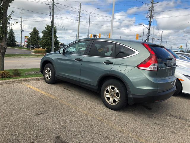 2013 Honda CR-V LX (Stk: H5957A) in Waterloo - Image 2 of 3