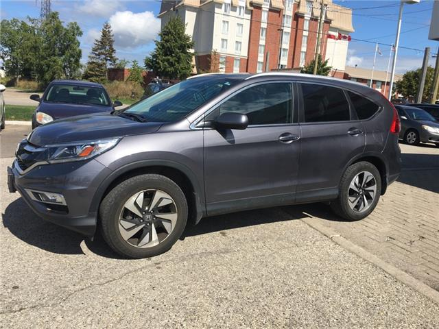 2016 Honda CR-V Touring (Stk: U6164) in Waterloo - Image 1 of 3