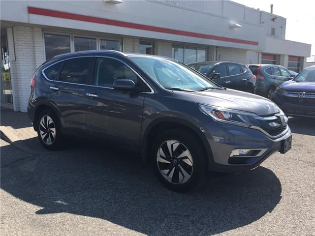 2016 Honda CR-V Touring (Stk: U6164) in Waterloo - Image 2 of 3