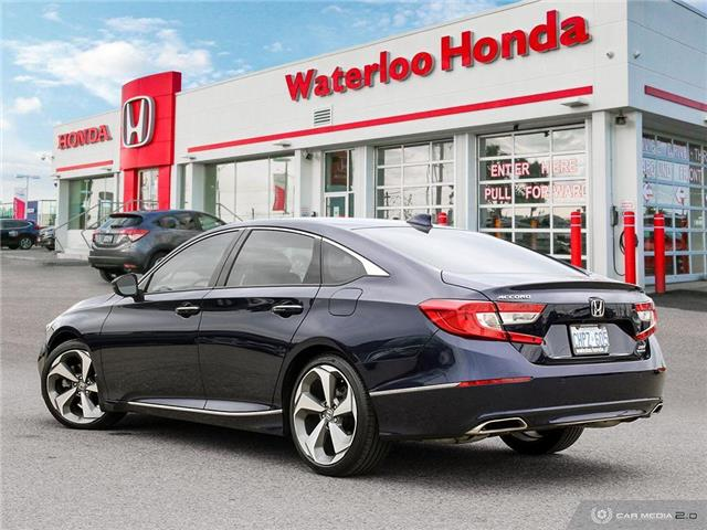 2019 Honda Accord Touring 2.0T (Stk: H4756) in Waterloo - Image 4 of 27