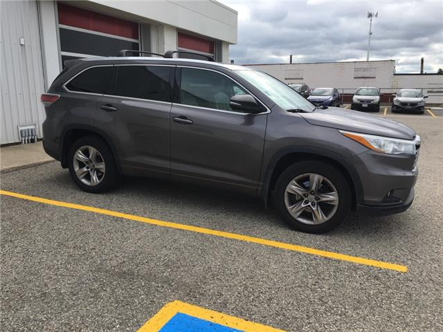 2015 Toyota Highlander Limited (Stk: H6010A) in Waterloo - Image 2 of 3