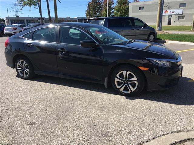 2016 Honda Civic LX (Stk: U6166) in Waterloo - Image 2 of 3