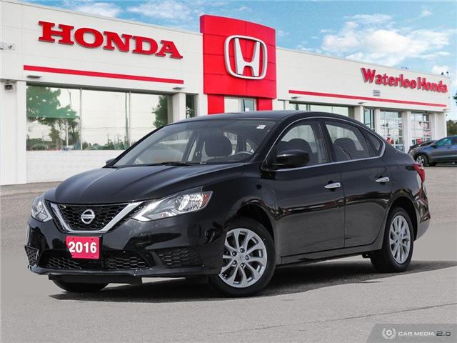 2016 Nissan Sentra 1.8 SV (Stk: H6021A) in Waterloo - Image 1 of 27