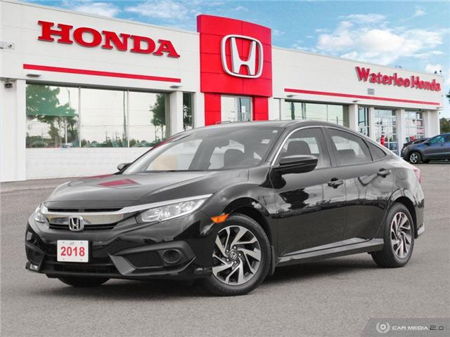 2018 Honda Civic SE (Stk: U5978) in Waterloo - Image 1 of 27