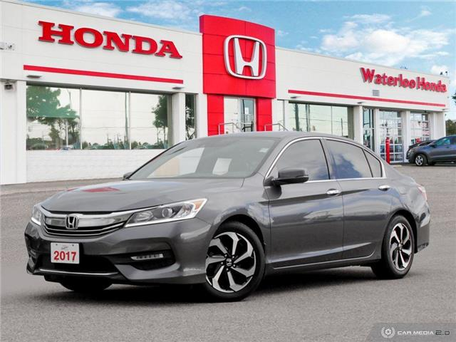 2017 Honda Accord EX-L V6 (Stk: H6054A) in Waterloo - Image 1 of 27