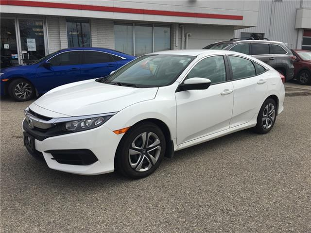 2016 Honda Civic LX (Stk: U6272) in Waterloo - Image 1 of 3