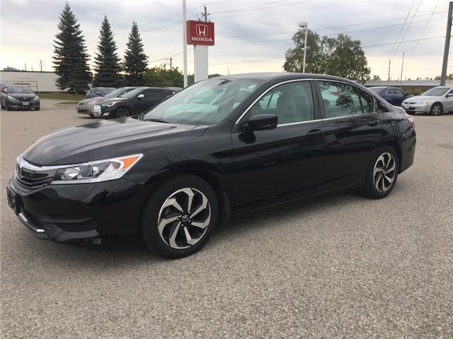 2016 Honda Accord LX (Stk: H6013A) in Waterloo - Image 1 of 4