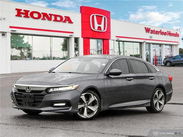 2019 Honda Accord Touring 1.5T (Stk: H4753) in Waterloo - Image 1 of 27