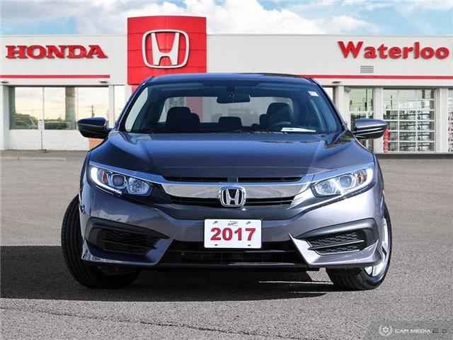 2017 Honda Civic LX (Stk: U6276) in Waterloo - Image 2 of 27