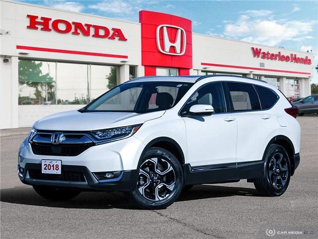 2018 Honda CR-V Touring (Stk: U6258) in Waterloo - Image 1 of 27