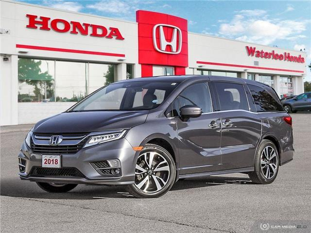 2018 Honda Odyssey Touring (Stk: U6150) in Waterloo - Image 1 of 27