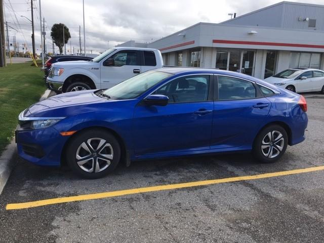 2017 Honda Civic LX (Stk: H6158A) in Waterloo - Image 1 of 3