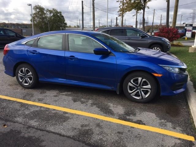 2017 Honda Civic LX (Stk: H6158A) in Waterloo - Image 2 of 3