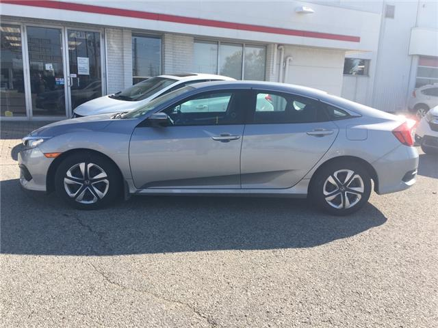 2016 Honda Civic LX (Stk: U6334) in Waterloo - Image 1 of 3