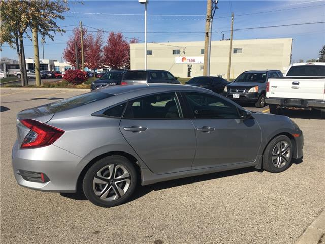 2016 Honda Civic LX (Stk: U6334) in Waterloo - Image 2 of 3