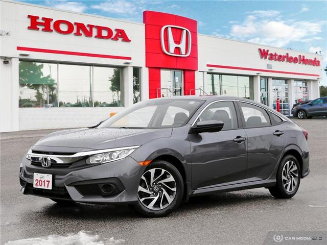 2017 Honda Civic EX (Stk: H6159A) in Waterloo - Image 1 of 27