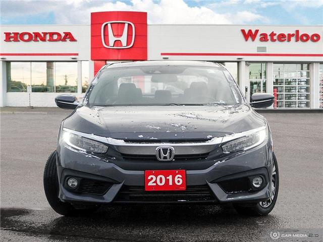 2016 Honda Civic Touring (Stk: U6696) in Waterloo - Image 2 of 27