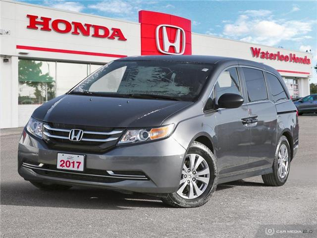 2017 Honda Odyssey SE (Stk: U6852) in Waterloo - Image 1 of 27