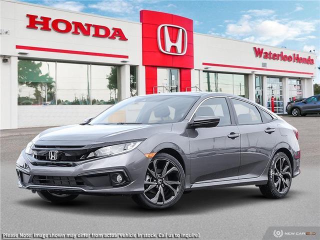 2020 Honda Civic Sport (Stk: H6800) in Waterloo - Image 1 of 23