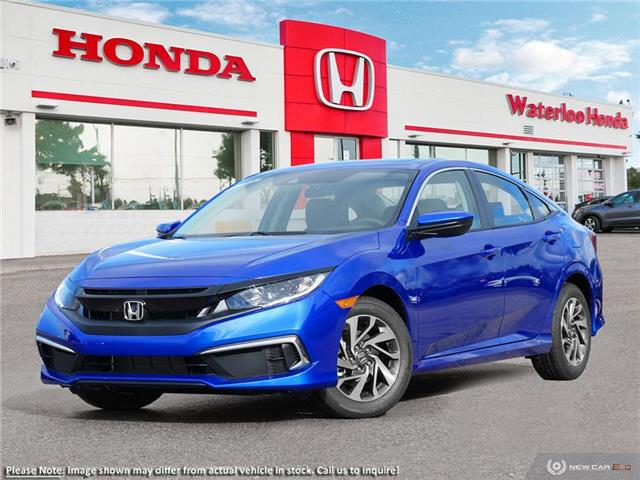 2020 Honda Civic EX (Stk: H6430) in Waterloo - Image 1 of 23