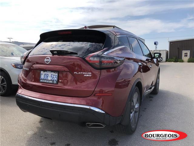 2019 Nissan Murano Platinum (Stk: 19MR10) in Midland - Image 3 of 22