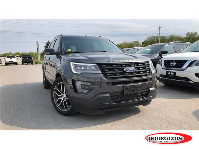 2016 Ford Explorer Sport (Stk: 19AL2A) in Midland - Image 1 of 21