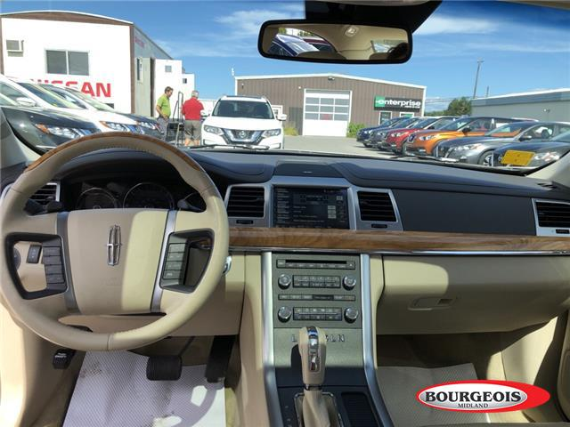 2012 Lincoln MKS EcoBoost (Stk: 019MA1A) in Midland - Image 8 of 17