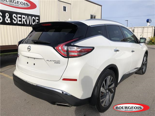 2016 Nissan Murano Platinum (Stk: 19MR23A) in Midland - Image 3 of 21
