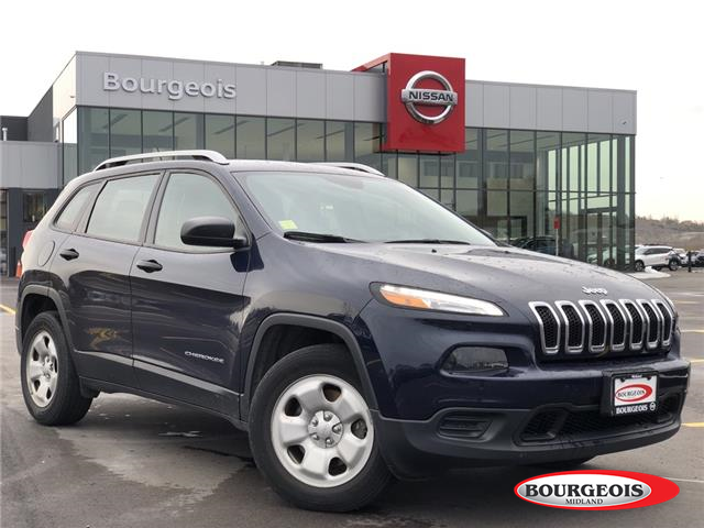 2016 Jeep Cherokee Sport (Stk: 19QA29A) in Midland - Image 1 of 4