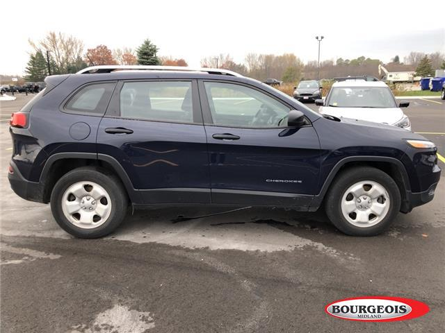 2016 Jeep Cherokee Sport (Stk: 19QA29A) in Midland - Image 2 of 4