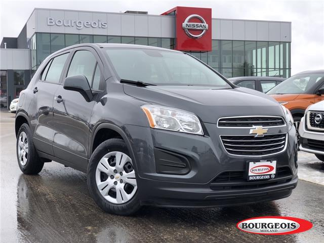 2016 Chevrolet Trax LS (Stk: 19RG6A) in Midland - Image 1 of 13