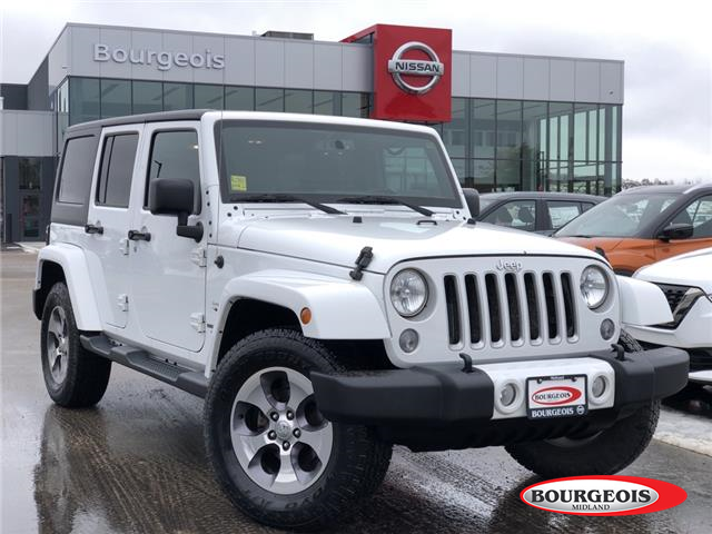 2016 Jeep Wrangler Unlimited Sahara (Stk: 19MR23AA) in Midland - Image 1 of 12