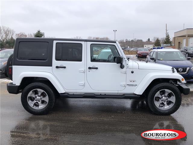 2016 Jeep Wrangler Unlimited Sahara (Stk: 19MR23AA) in Midland - Image 2 of 12