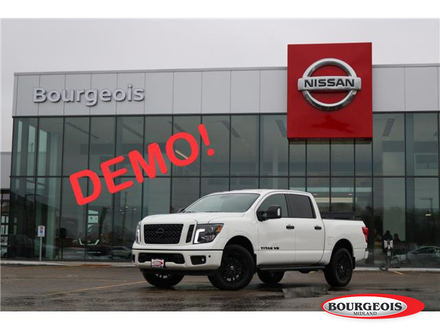 2019 Nissan Titan SL Midnight Edition (Stk: 019TN1) in Midland - Image 1 of 20