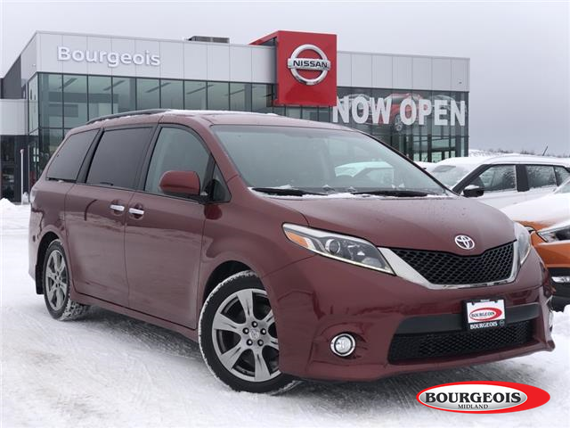 2017 Toyota Sienna SE 8 Passenger (Stk: R00027A) in Midland - Image 1 of 17