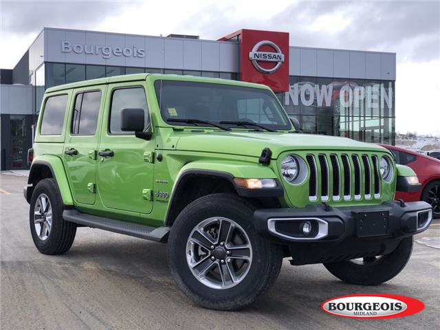 2020 Jeep Wrangler Unlimited Sahara (Stk: R00053) in Midland - Image 1 of 17