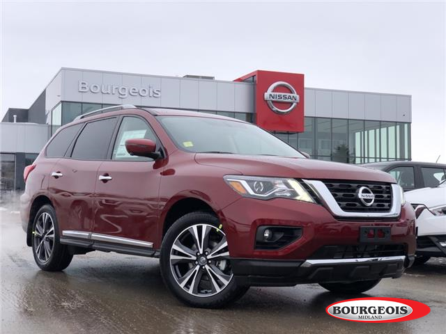 2020 Nissan Pathfinder Platinum (Stk: 20PA48) in Midland - Image 1 of 25