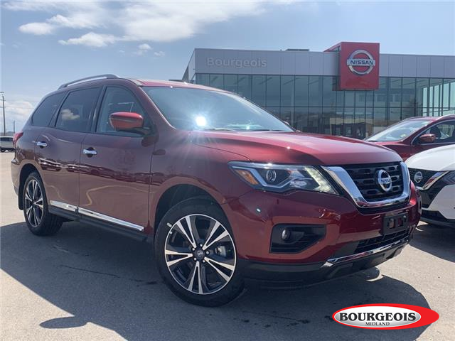 2020 Nissan Pathfinder Platinum (Stk: 20PA54) in Midland - Image 1 of 27