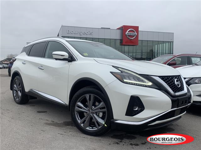 2021 Nissan Murano Platinum (Stk: 21MR17) in Midland - Image 1 of 21