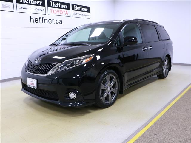 2017 Toyota Sienna SE 8 Passenger (Stk: 195538) in Kitchener - Image 1 of 35