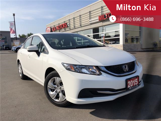 2015 Honda Civic LX (Stk: P0099) in Milton - Image 1 of 16