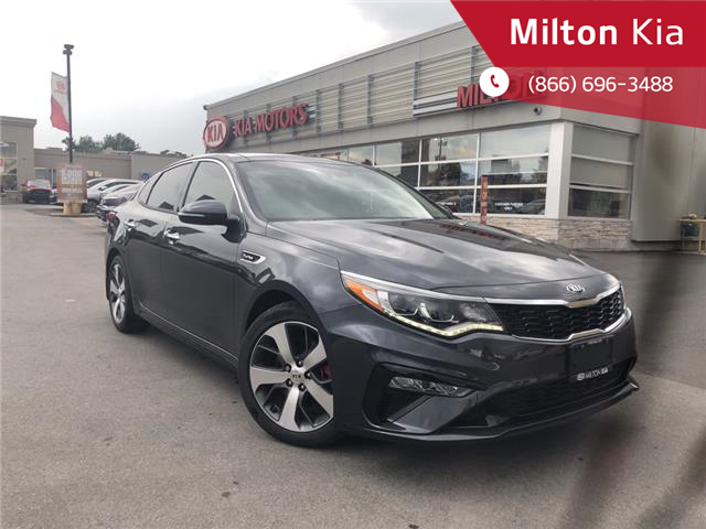 2019 Kia Optima SX Turbo (Stk: 327816) in Milton - Image 1 of 21