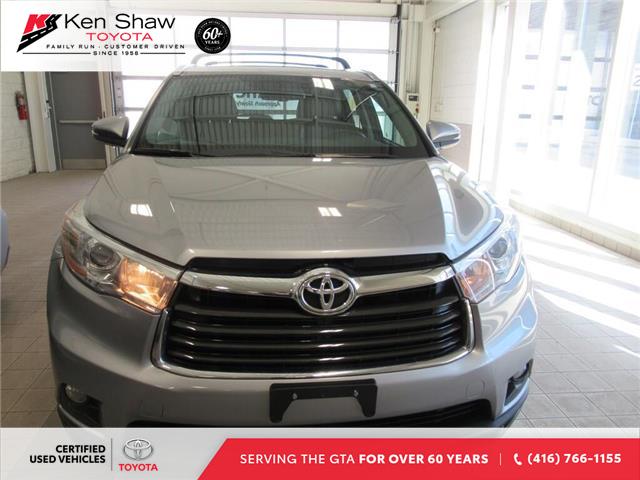 2016 Toyota Highlander Limited (Stk: 16018A) in Toronto - Image 12 of 17